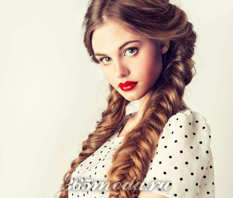 Прическа плетение кос