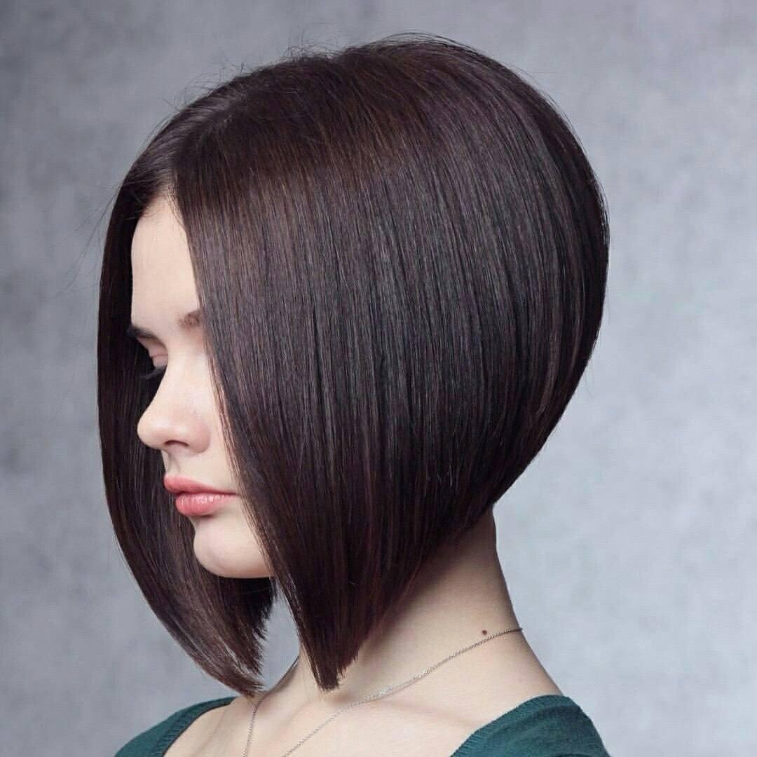 Стрижка боб на длинные волосы фото варианты