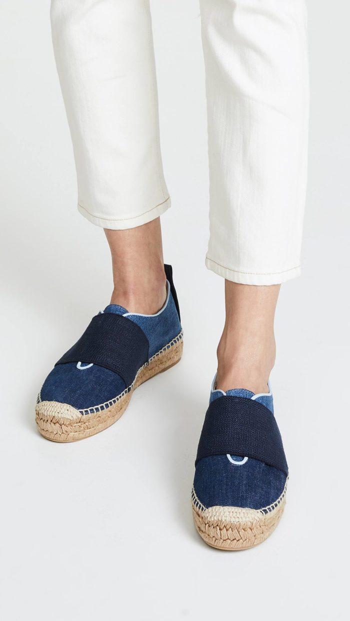 джинсовые эспадрильи