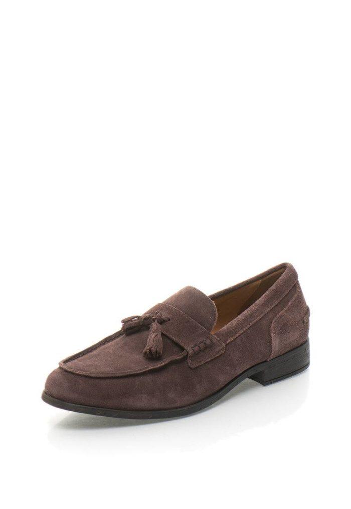 женская обувь весна лето: мокасины с декором