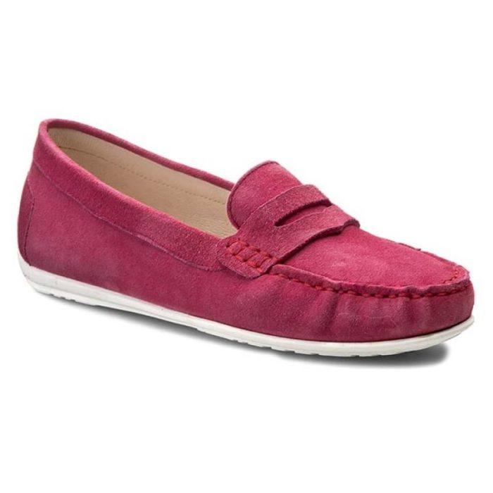женская обувь весна лето: розовые мокасины