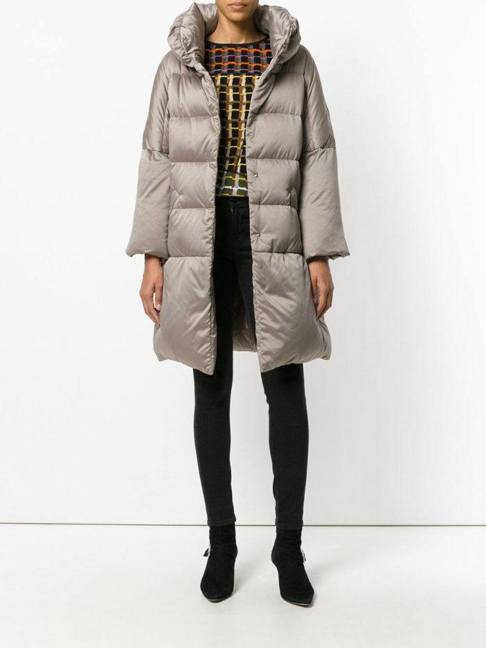 Модные цвета осень-зима 2019-2020: пуховик миди