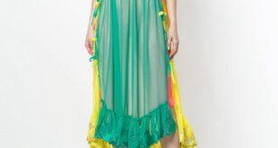 многослойное платье весна лето