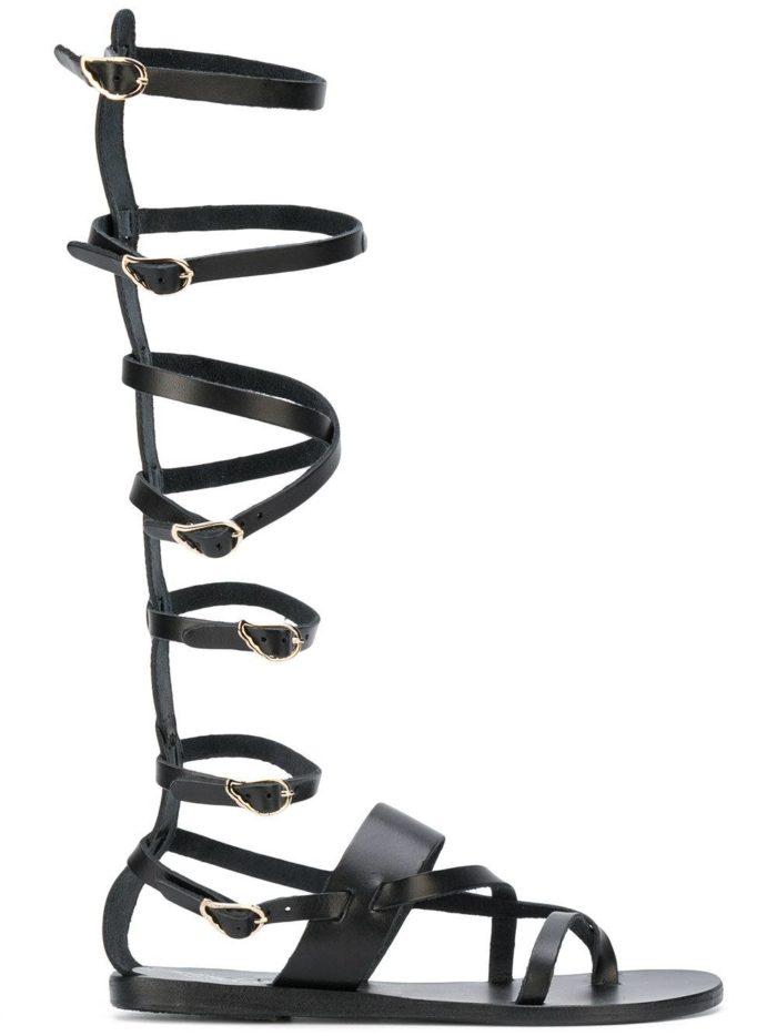 гладиаторские высокие сандали