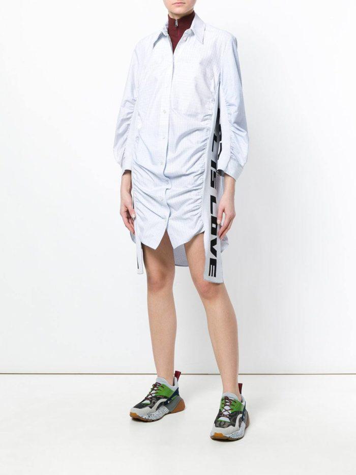 асимметричное платье рубашка весна лето
