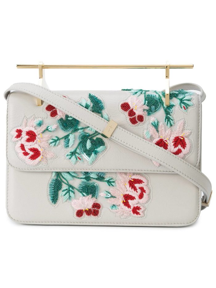 сумка на с декором ремешке весна лето