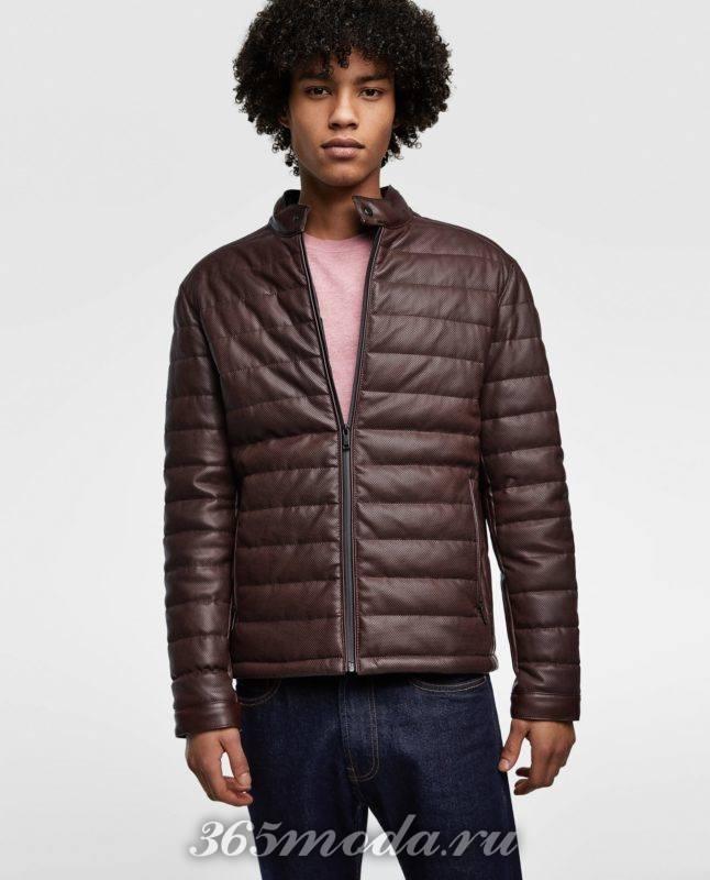 Мужская куртка на синтепоне весна 2019