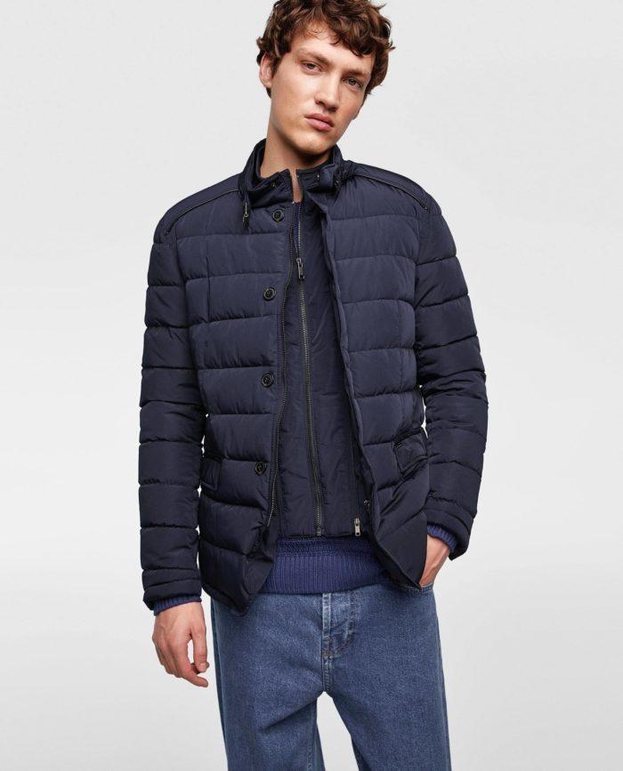 Мужская куртка на синтепоне весна 2021