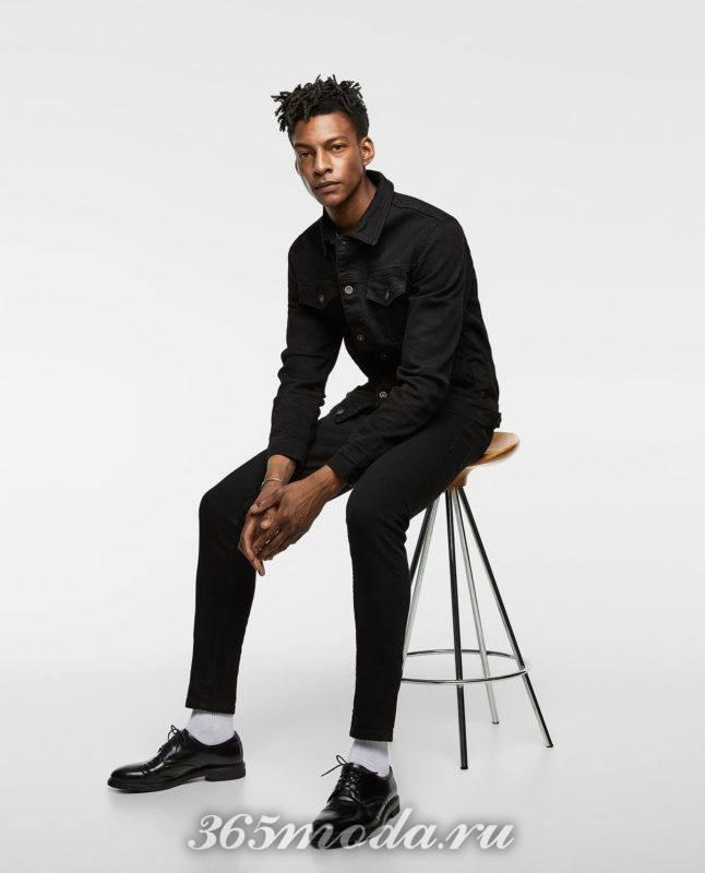 Мужская куртка джинсовая весна 2019