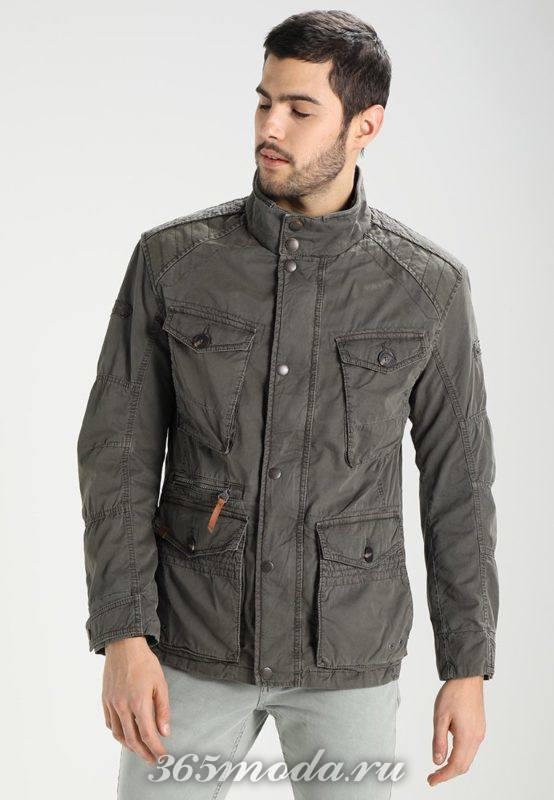 Мужская куртка утепленная весна 2019