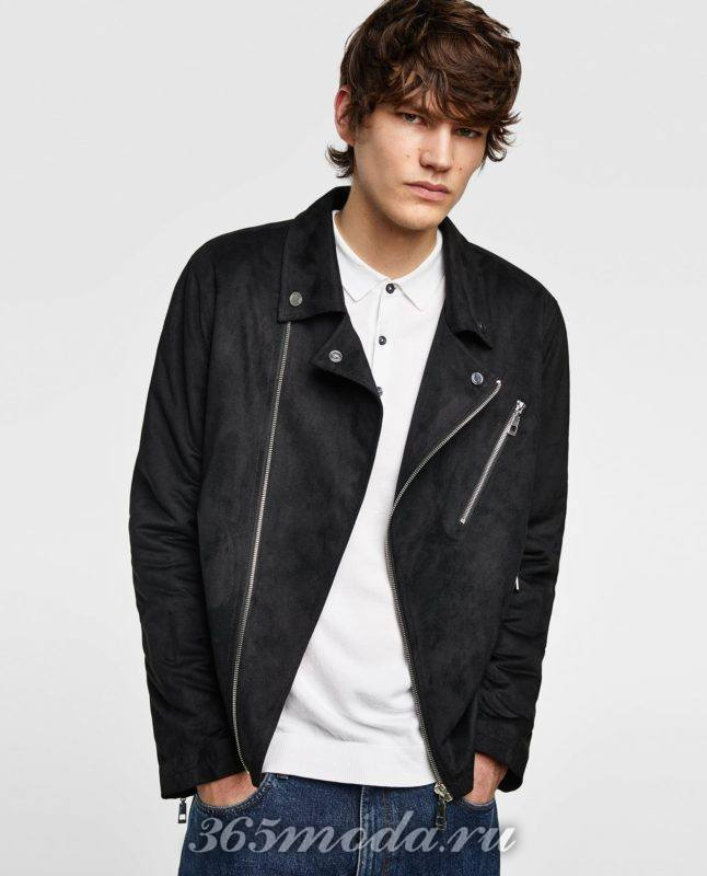 Мужская куртка косуха весна 2019