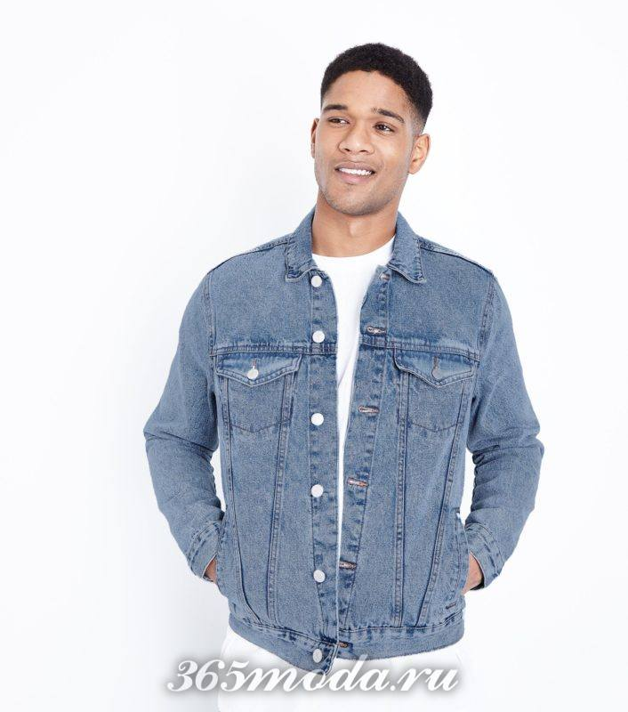 джинсовая мужская куртка весна лето 2018