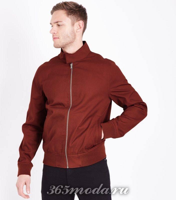 красная мужская куртка весна лето 2018