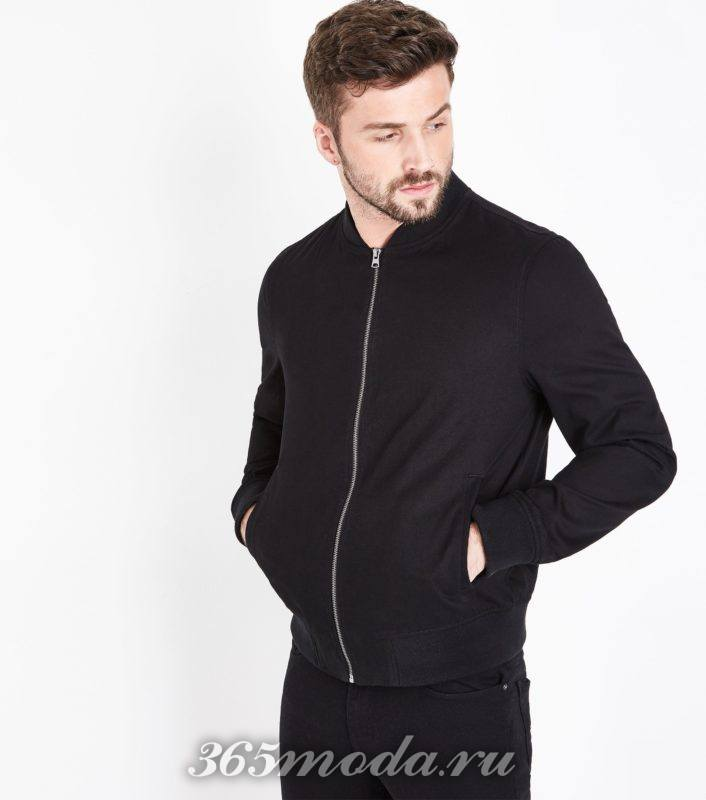 черная мужская куртка весна лето 2018