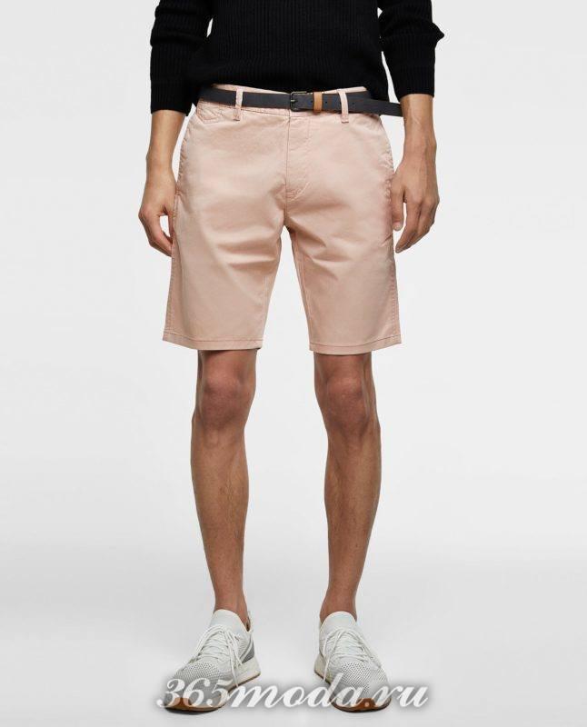 розовые шорты весна лето 2018