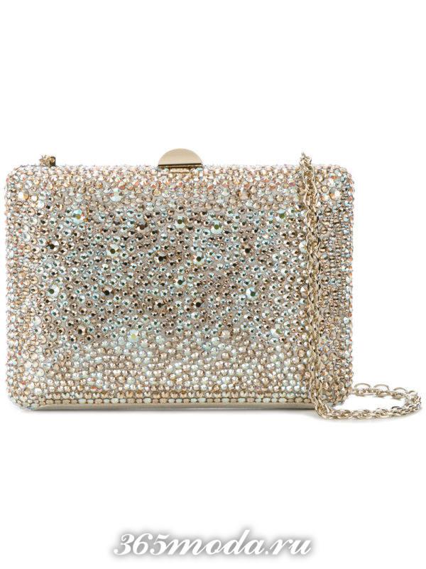 свадебная сумка марсала и золото