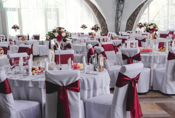 украшение зала для гостей марсала