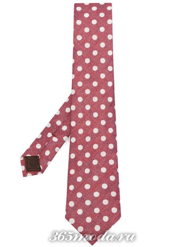 галстук с принтом для жениха