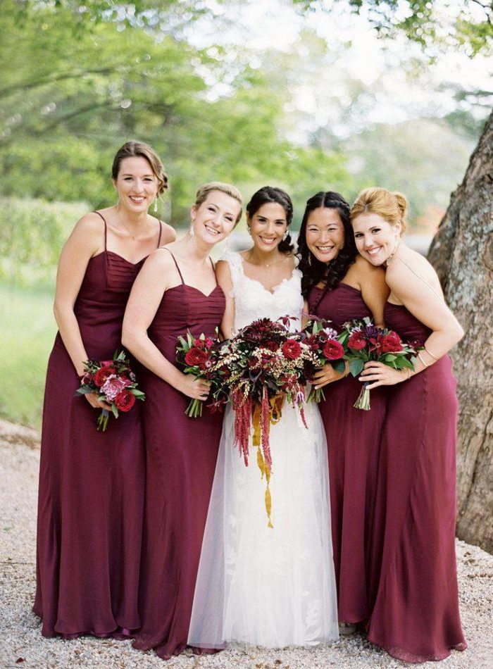 наряды невесты и гостей