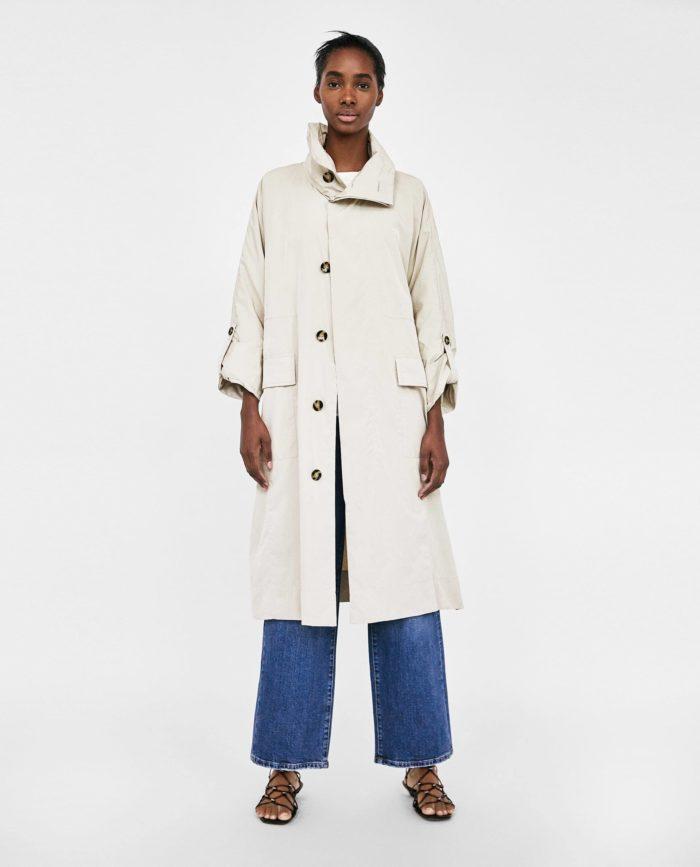 мода 2019-2020 года в женской одежде: бежевое пальто