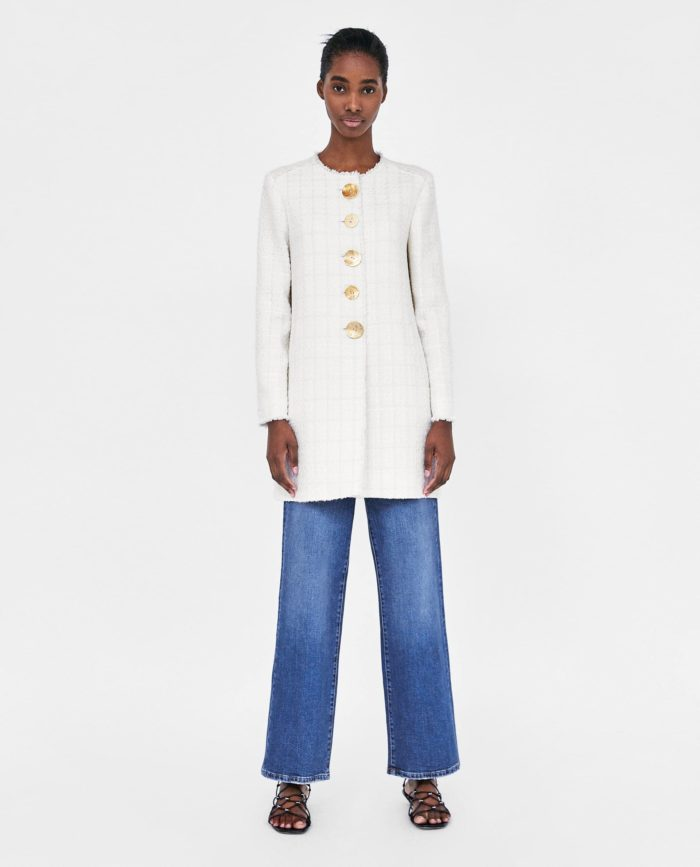 мода 2019-2020 года в женской одежде: белое пальто