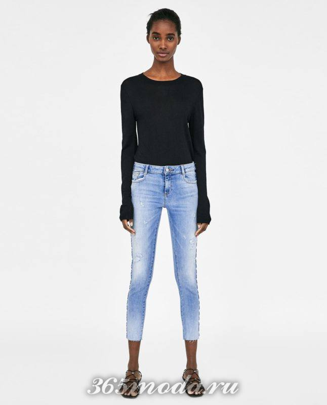 модные женские джинсы 2018