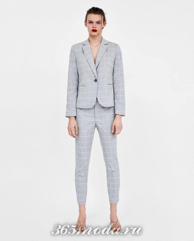 модные серые женские брюки 2018