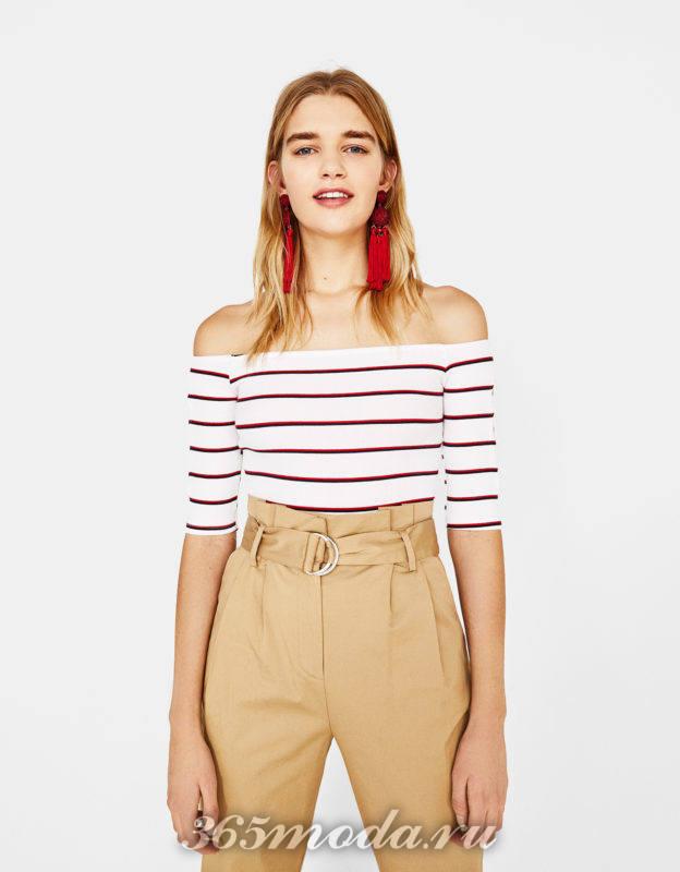 Тренд в одежде весна лето 2018